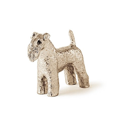 Kerry Blue Terrier Made in UK Artistic Style Dog Figurine Collection