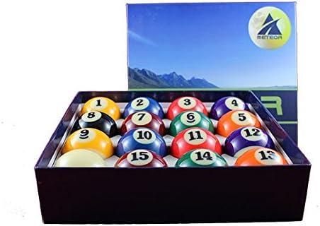 Bolas de Bolas Bolas numeradas para Billar Pool r5505 Juego de 16 ...