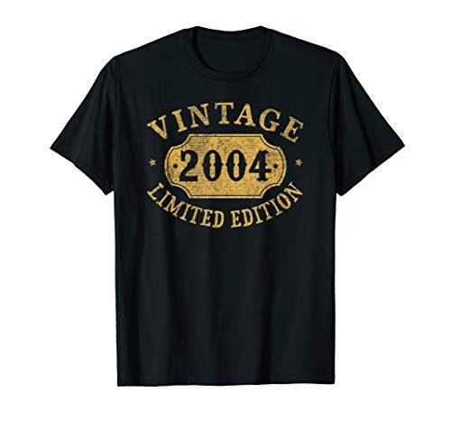 2004 15 years old 15th B-day Limited Birthday Gift T-Shirt