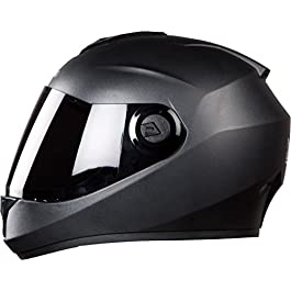 Steelbird Vision Glass Dashing SBH-11/Vision Helmet, Black