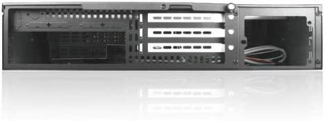 146380C iStarUSA D-200SE 2U Compact Stylish Rackmount Chassis Red Power Supply Not Included