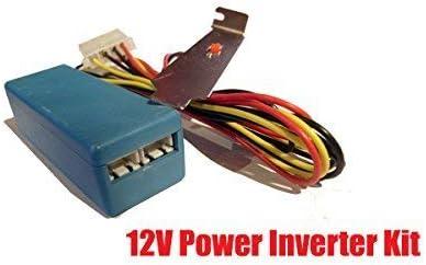 12v RED CCFL Cold Cathode PC Light Kit w// Switch Molex Computer Connector
