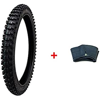 Compare Tire Sizes >> Amazon Com Combo Dirt Bike Tire Size 80 100 21 Inner Tube Size