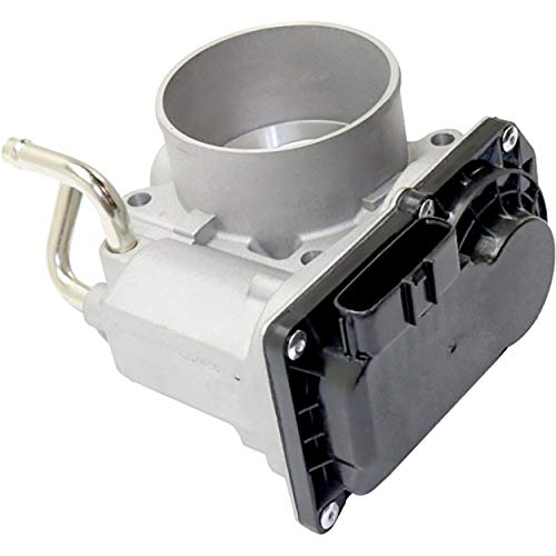 APDTY 141411 Throttle Body Assembly Fits 2005-2014 Toyota Tacoma 2.7L 4-Cylinder (Includes TPS Position Sensor, IAC Idle Air Control Valve, Replaces 22030-75020, 2203075020) ()