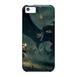 New Dragon Slayer Tpu Cases Covers, Anti-scratch SVs3278gUXr Phone Cases For Iphone 5c