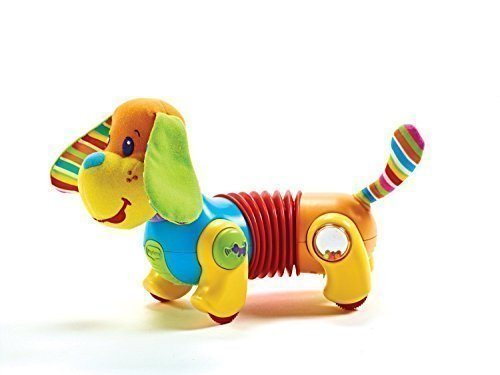 Lovely Kids Tiny Love Follow Me Fred The Dog Dauschund Walking Activity Baby Toy NEW NIB by Love Greenland by Greenland