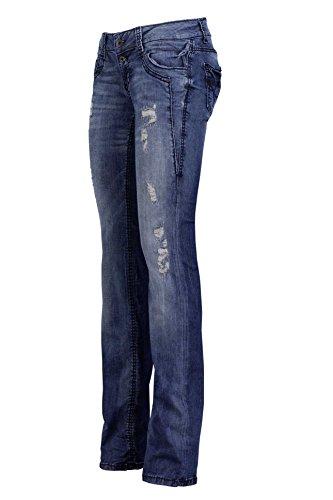 Soccx Jeans Scuro Blu Stretti Ka ti s115 SZU0qSH