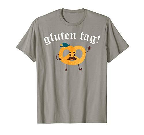 Gluten Tag Oktoberfest Shirt Funny Beer Drinking -