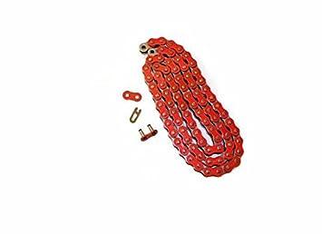 2004-2006 Honda CRF250X 2012-2015 CRF450X Red O Ring Chain 114L 2005-2009