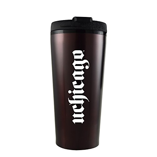 University of Chicago-16 oz. Travel Mug Tumbler-Burgundy