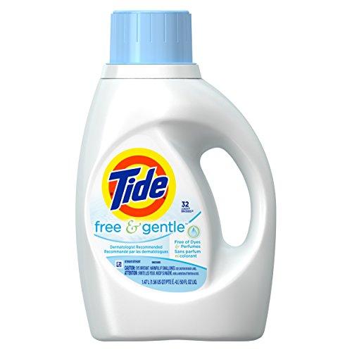 Price comparison product image Tide Free and Gentle Liquid Laundry Detergent 50 Fl Oz 32 Loads