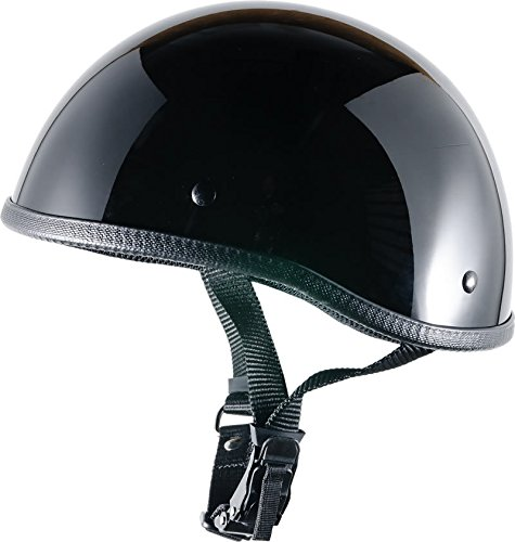 - CRAZY AL'S WORLDS SMALLEST HELMET SOA INSPIRED IN GLOSS BLACK WITH OUT VISOR SIZE LARGE