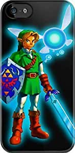 SUUER Ocarina of Time iPhone Custom Hard CASE for iPhone 5 5s Durable Case Cover by lolosakes