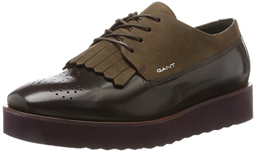 Gant Women's Katie Brogues Brown (Dk.br./French Roast Red G461) cheap sale low price discount clearance store cheap sale get to buy ZzK96