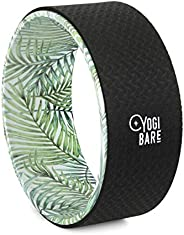 "Yogi Bare Yoga Stretching Wheel 13"" Non Slip - Improve Mobility, Relieve Tension - Flexibility and Suppor"