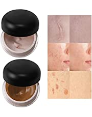 Boobeen 2 Colors Tattoo Concealer - Skin Concealer Makeup For Scars Birthmarks And Bruises - Concealer Cover Up Makeup Cream Foundation for Imperfections & Tattoos