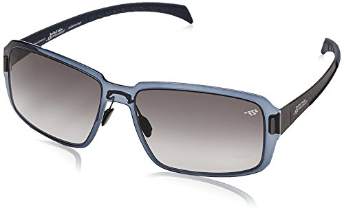 Red Bull Racing Eyewear Unisex - Erwachsene Sonnenbrillen Sports-Tech, Gr. One Size, Shiny Transparent Smoke & Rubber Blue/Brown