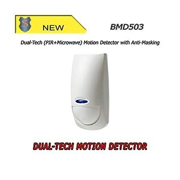 Dual-Tech(microondas sensor de movimiento +) de movimiento con ...