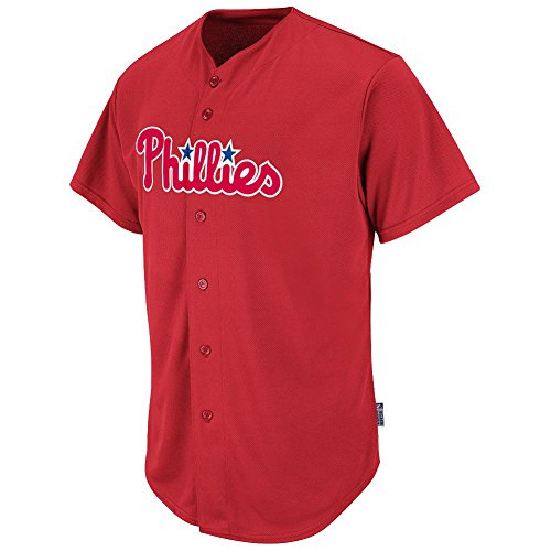 Philadelphia Phillies MLB Adult Full-Button Cool Base Jersey (Philadelphia Phillies Fan)