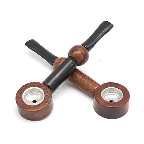 Handmade Portable Stored Wooden Pipes (random)