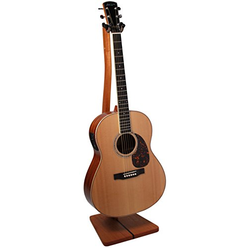 So there wooden guitar stand handcrafted solid mahogany
