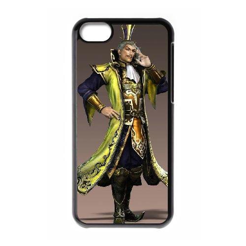 K6I47 Dynasty Warriors Q4L4CU cas d'coque iPhone de téléphone cellulaire 5c couvercle coque noire KO8HUI3NO