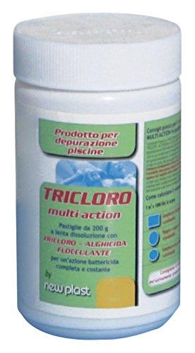 9 opinioni per New Plast 0960 Tricoloro in Pastiglie di 200 Gr, Multi Uso, Barattolo 1 kg, 40 x