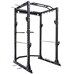 Strengthshop Power Cage - Rack de carga (1,69 x 1,45 x 2,15 m, con ...