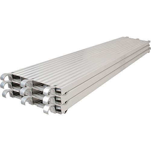 Metaltech Saferstack 7ft. x 19in. All-Aluminum Platform 3-Pk. M-MPA1019K3