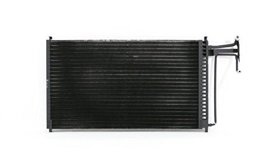 A-C Condenser - Pacific Best Inc For/Fit 3642 83-87 Chevrolet GMC Pickup 83-91 Blazer Jimmy Suburban Gas Engine ()