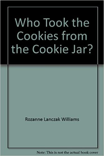 Who Took The Cookie From The Cookie Jar Book Amazing Who Took The Cookies From The Cookie Jar Learn To Read Read To