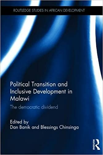 Book Political Transition and Inclusive Development in Malawi: The democratic dividend (Routledge Studies in African Development)