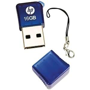 HP P-FD16GHP165-EF v165w 16 GB USB 2.0 Flash Drive (Blue)