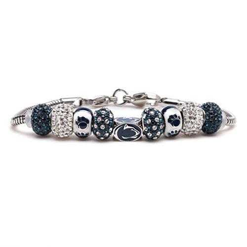 Penn State Charm Bracelet | Penn State Nittany Charm Bracelet | Officially Licensed Penn State Jewelry