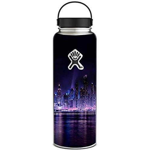 Skin Decal Vinyl Wrap for Hydro Flask 40 oz Wide Mouth / Manhattan Skyline