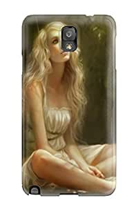Galaxy Note 3 Case Bumper Tpu Skin Cover For Angel In Lemon Groove Accessories