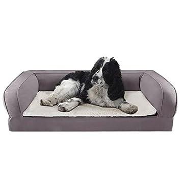 Colchoneta para perros cama ortopédica para perros con Memory Foam Che dando y aliviar Riposo,