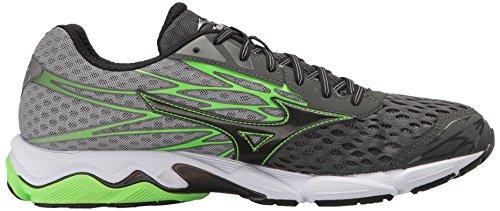 Men's Catalyst Shoes Mizuno 2 Flash Wave Green Canada Charcoal Running SqtxPU5x