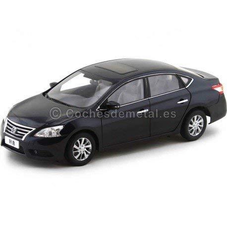 2012 Nissan Sentra Sylphy Metallic Black 1:18 Paudi Models 2266