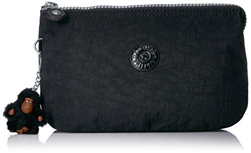 Kipling Creativity Xl Go Solid Pouch with Guitar Strap, Black