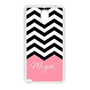 iFUOFF Amazing Black and White Zigzag Chevron Pink Customized Name Protective Snap On Fashion Case for Samsung GALAXY S5 Mini (Black or White 2 Colors)