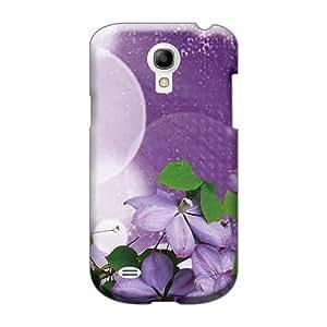 RichardBingley Samsung Galaxy S4 Mini Shockproof Hard Phone Case Custom Lifelike Lavender Flower Burst Pictures [agM18008oPpT]