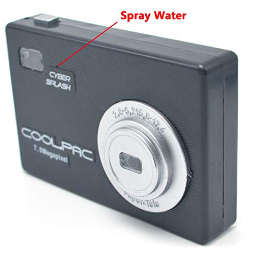 Cooplay Squirt Water Camera Prank Toy Spray for Kids Favors Trick in Party School Funny Gag]()