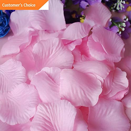 Hebel 1000Pcs Silk Flower Rose Petals for Wedding Party Decoration US | Model ARTFCL - 982 |