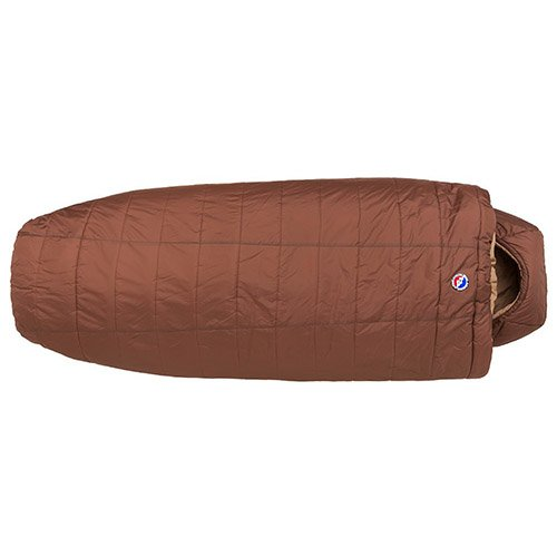 Big Agnes Whiskey Park 0 (Thermolite Extra) Sleeping Bag, Wide Long, Cappuccino
