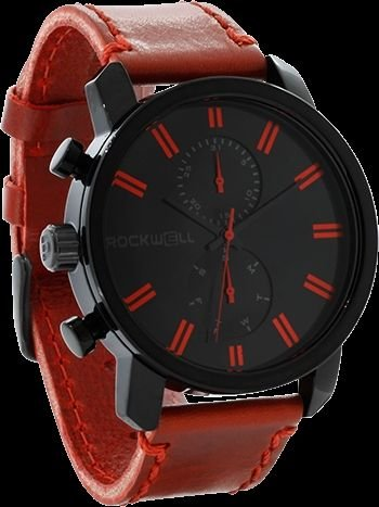 Rockwell Time Men's Apollo Watch, Black/Red by Rockwell Time