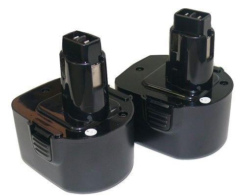 Hardware Decker (2X 12V NI-CD PS130 Battery for Black & Decker, Firestorm 12 Volt Cordless Drill)