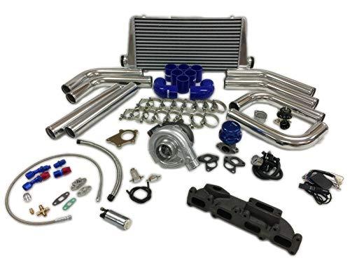 03-05 SRT-4 SRT4 T3T4 .63 Turbo Kit Intercooler BOV FMIC Manifold Fuel