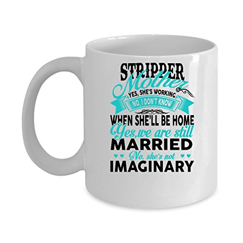 5325 Chocolate (Funny STRIPPER Jobs Mugs - STRIPPER Mother She's Working Best Sarcastic Mug Gift For Him,Her, Adult.. On Thanks Giving, Christmas Day, White 11Oz Coffee Mugs)