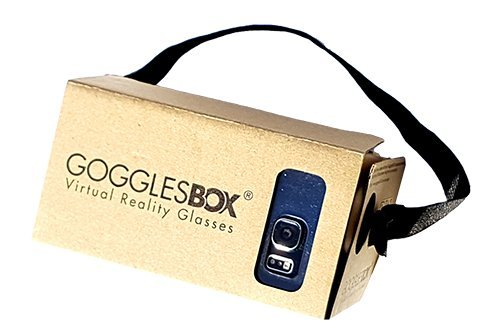 e46f2a1ed12 Google Cardboard 45mm Focal Length Virtual Reality Headset - With Free NFC  Tag   Headstrap (Brown)